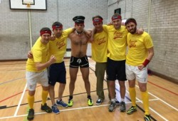 dodgeball stag party