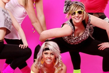 80s Dance Class Hen Party Manchester