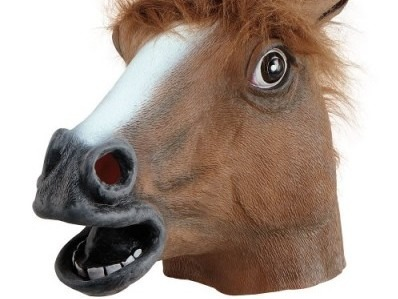 Horse Head Mask Stag Costume