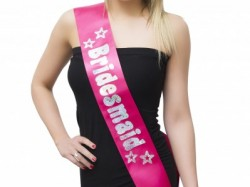 Bridesmaid Sash hen Party