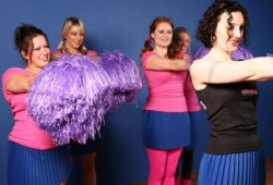 Cheerleading Dance Class Hen Party Manchester