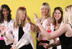 Grease Dance Class Hen Party Manchester
