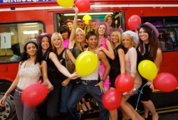 party bus hen and stag night