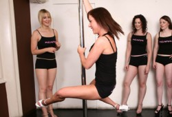 Pole Dance Class Hen Party Manchester