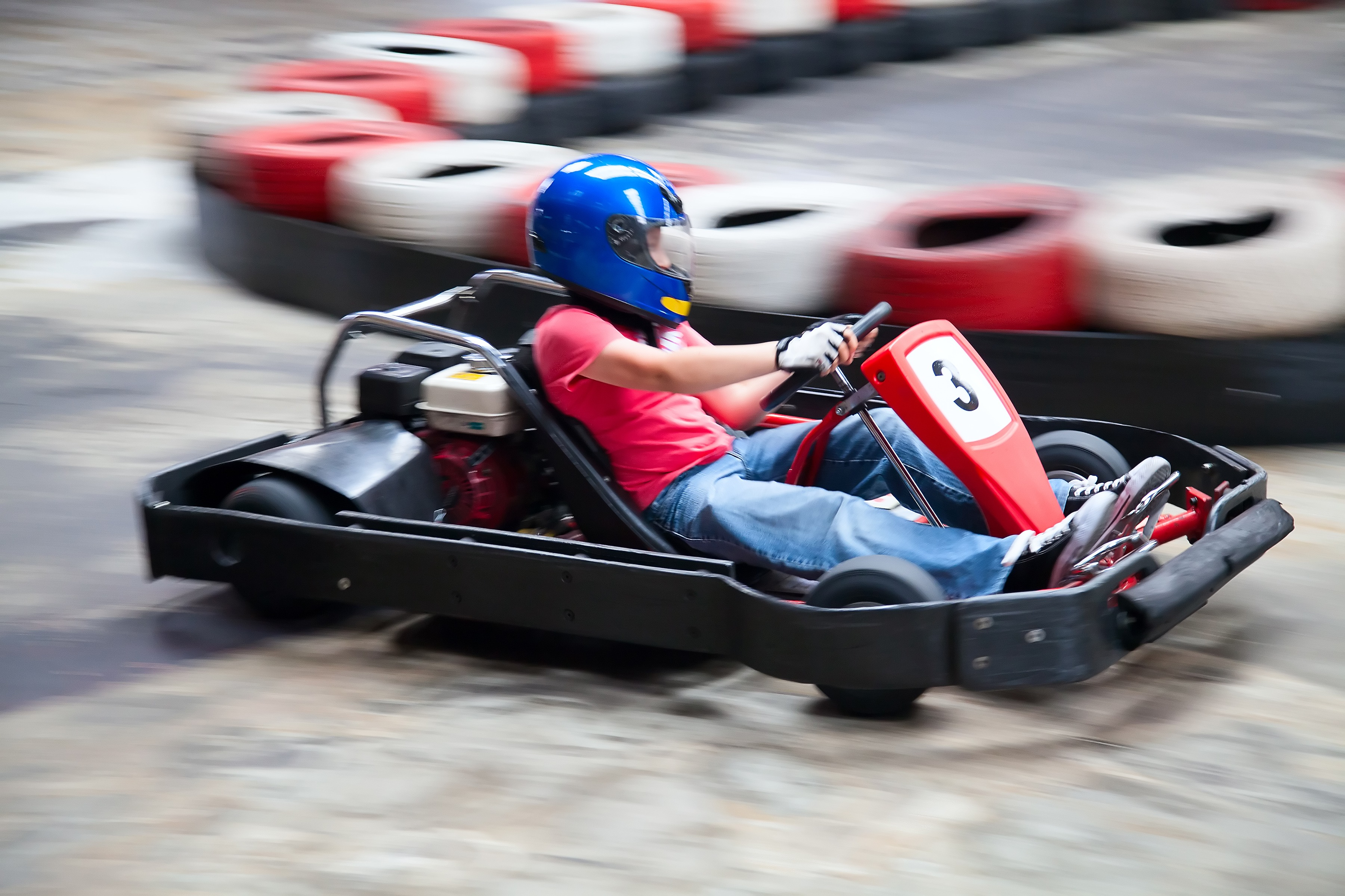 Karting Hen Stag