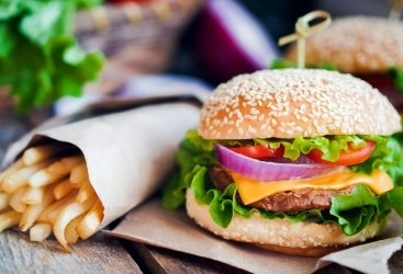 Burger or Pizza Meal Stag and hen Party manchester