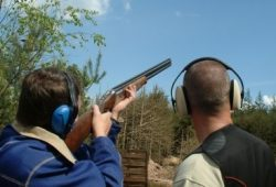 Clay Pigeon Shooting Stag and hen Party