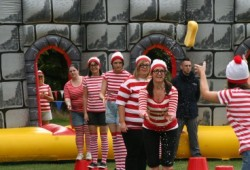 its a knockout hen party