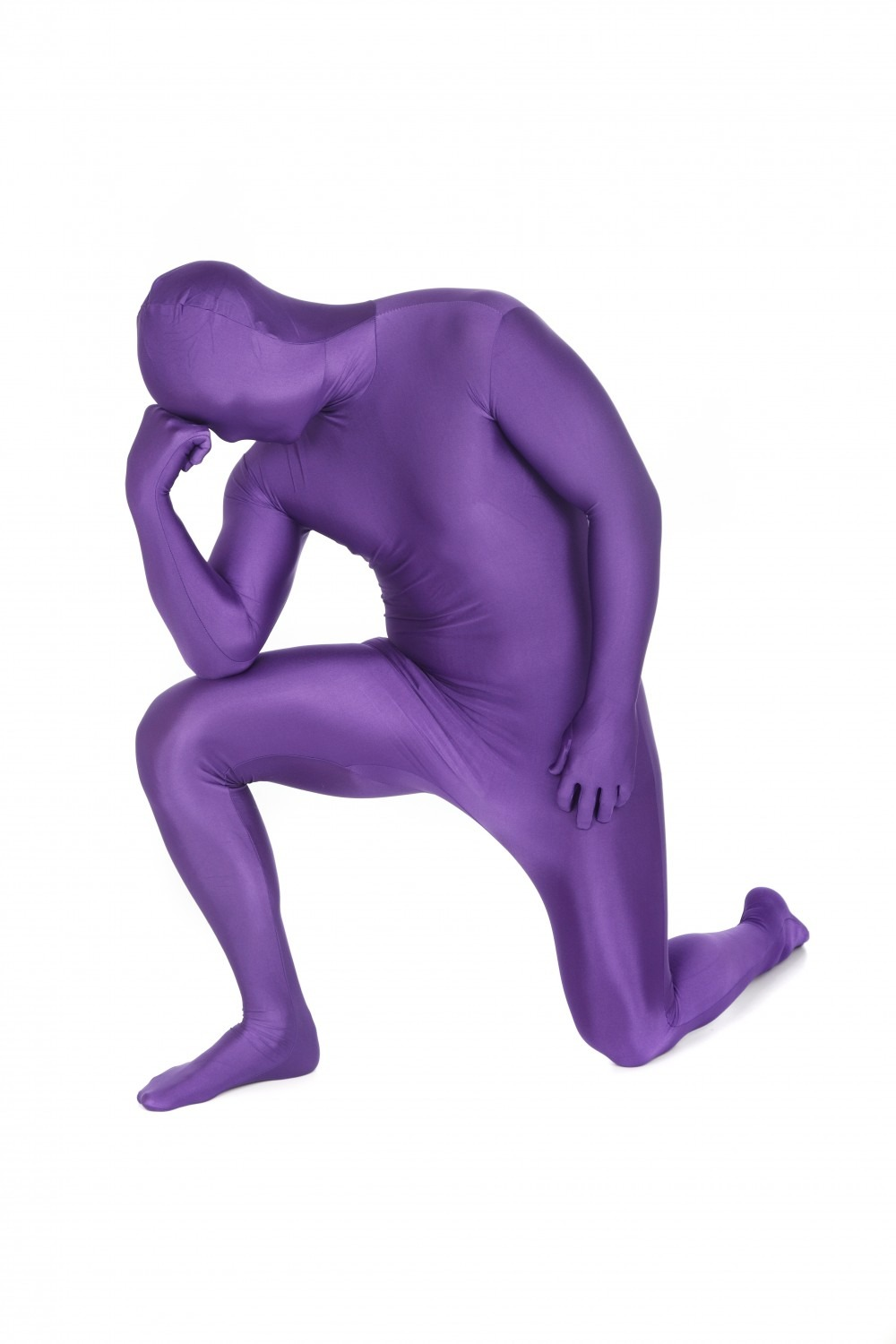 Purple Morphsuit Stag Party