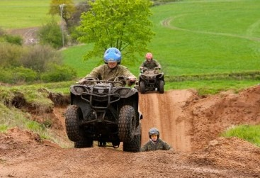 Quad Bike Trek Stag and Hen Party Cheste