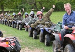 Quad Bike Trek Stag and hen Party Chester
