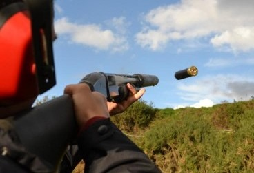 pump action clay pigeon shooting Stag do