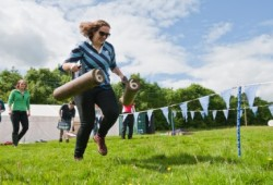 Mini Highland Games Hen Party Edinbough