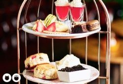 gin masterclass with afternoon tea